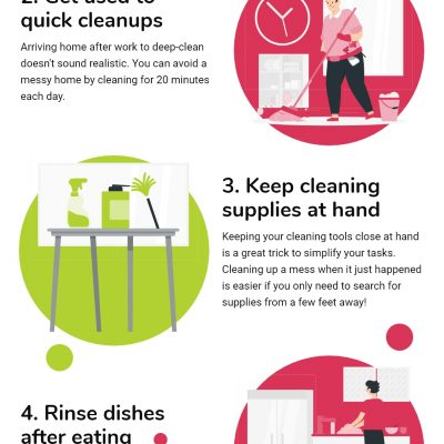 6 Tips To Clean Your Home While Having A Busy Schedule