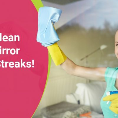 How To Clean A Dirty Mirror Without Streaks!